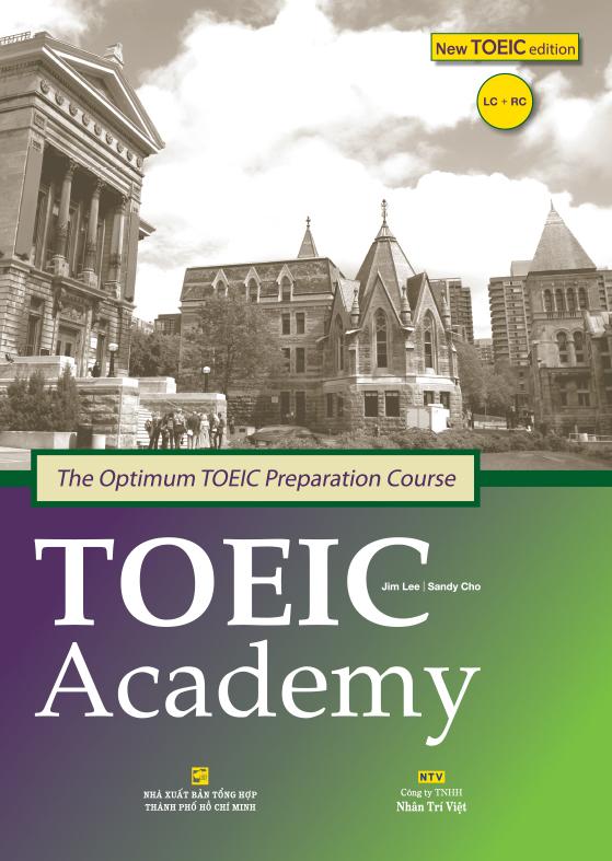 sách luyện thi toeic Academy